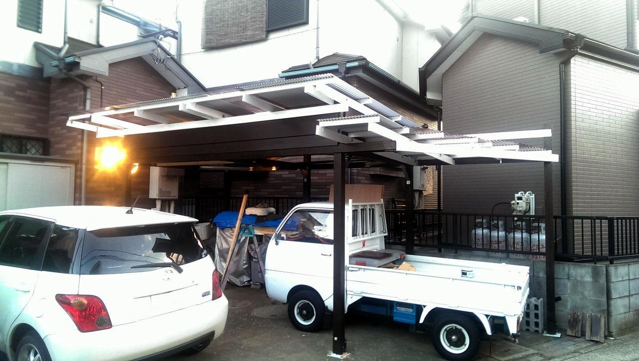 屋根は完成か