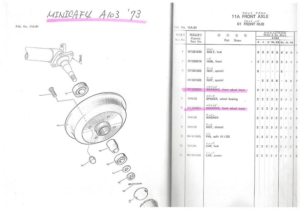 ミニカF4 A103