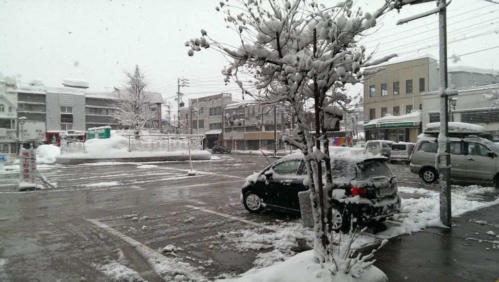 大雪ですよ。