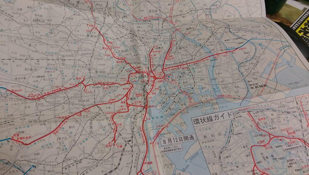 東京港トンネルのみ開通