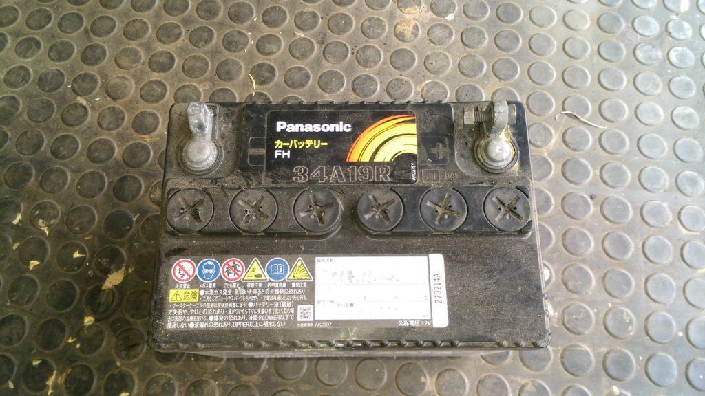 過放電バッテリ