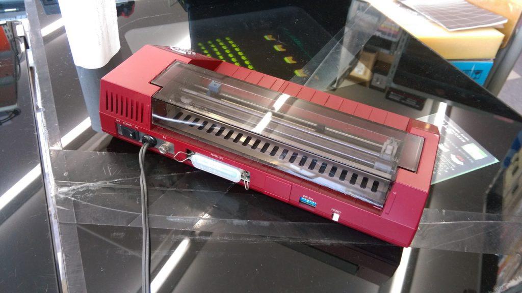 CZ-8PP2 4色 カラープロッタプリンタ
