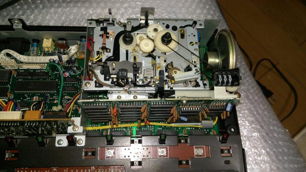 カセット機構部