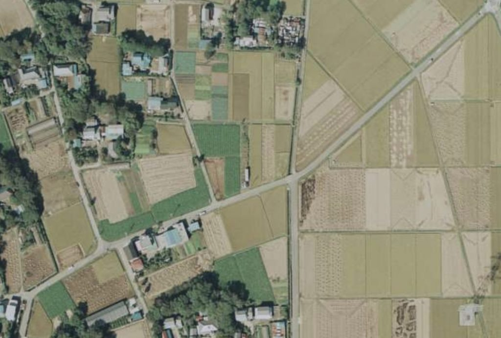 1979年の空中写真(出典:国土地理院ウェブサイト)