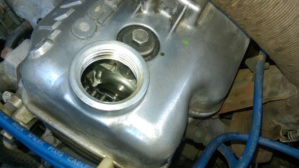 タヌキ2号車のエンジン