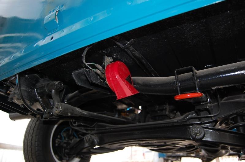 タヌキ1号車のホーン